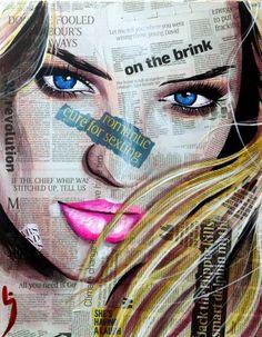 "Saatchi Art Artist Conrad Crispin Jones; Painting, ""On The Brink"" #art"