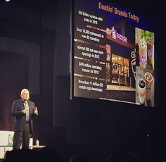 Strong brands have clear points of differentiation &brand purpose. They are able to adapt to disruption! Dunkin Donuts #dunkindonuts #24notion #shoptalk16 @dunkindonuts