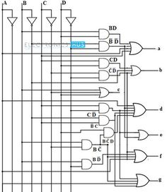 ultra blue 0 56 inch common anode 3 digit 7 segment led displays rh pinterest com bcd to 7 segment display logic diagram Bcd to 7 Segment Display Truth Table