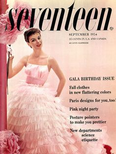 1954 Seventeen magazine
