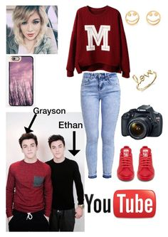 """Make video w/ the Twins Dolan"" by directioner78250 ❤ liked on Polyvore"