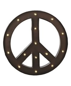 Love this Midwest-CBK Peace Marquee Light by Midwest-CBK on #zulily! #zulilyfinds