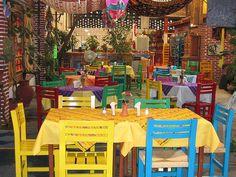 Restaurant in Tepoztlan, Mexico