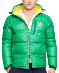 Polo Ralph Lauren Rlx Ripstop Down Jacket