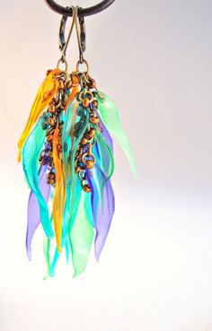 Rainbow of Color Upcycled Plastic Bottle by funkychicUPCYCLING, $27.00