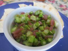 Asparagus Salsa - Perfect for Spring!