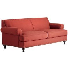Carmen Sofa >>so my color, luv the simplistic lines and look of comfort