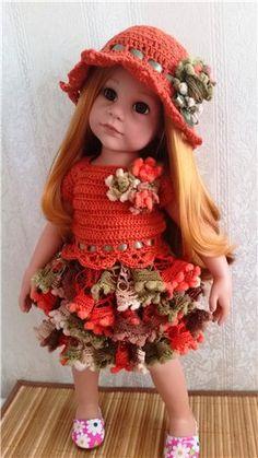 Доброго дня всем любителям кукол, приехала моя долгожданная куколка Готц Надюша, имя я ей так и оставила, у меня две