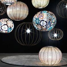 Missoni Home Bubble Gold Lamp