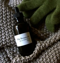 An immune nurturing preparation for the winter: Spiced Elderberry Elixir by ElmBotanicals on Etsy