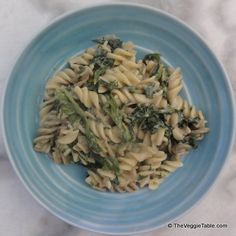 Pasta florentine - https://www.theveggietable.com/blog/vegetarian-recipes/main-courses/pasta-florentine/