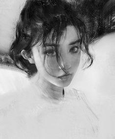 Portrait sketch by Yizheng Ke - Album on Imgur