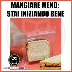 Quando trovi un modo originale per iniziare la #dieta ! Seguici su youtube/bastardidentro #bastardidentro… www.bastardidentro.it
