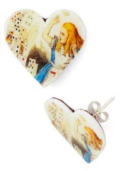 Alice in Earrings, #ModCloth
