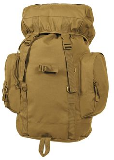 """- The 45L Tactical Backpack Will Have You Ready For Any Mission - Dimensions: 22.5"""" x 9.5"""" x 13"""" - Features Large Main Compartment With Drawstring Closure - Elastic Top Cover With Quick-Release Buckle"""