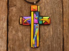 Dichroic Fused Glass Mosaic Style Cross by PureLightStudio on Etsy Stained Glass Birds, Stained Glass Panels, Fused Glass Art, Mosaic Glass, Mosaic Mirrors, Mosaic Wall, Fused Glass Ornaments, Snowman Ornaments, Glass Fusion Ideas