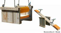 Oranje inspiratie: Woedz Schommel & Wip