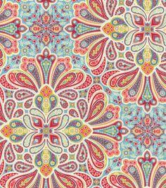 45'' Home Essentials Print Fabric-Paisley Medallion Colonial