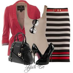 Stylish Eve 2013 Outfits- Fall into    me encantaaaaa!!!!!  Michael Kors Accessories_03