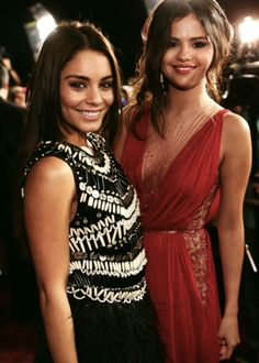 The stars from Spring Breakers in perfect dresses for prom.