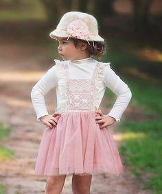 Look what I found on #zulily! Rose Mayberry Dress & Mock Set - Girls #zulilyfinds
