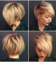 """Long Pixie Pixie haircut came into vogue back in 1953 when Audrey Hepburn appeared on the screens in the movie """"Roman Holiday"""". Pixie Cuts - July 14 2019 at Long Pixie Hairstyles, Short Pixie Haircuts, Haircuts With Bangs, Trending Hairstyles, Short Hairstyles For Women, Fine Hairstyles, School Hairstyles, Long Pixie Cuts, Short Hair Cuts"""