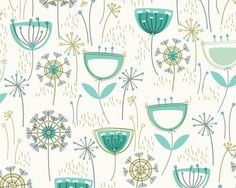 spring pattern by Rachel Cave