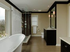 HGTV has inspirational pictures and expert tips on modern bathroom design ideas that help you add an up-to-date look in your bathroom space.