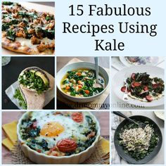 15 Fabulous Recipes Using Kale #kale #kalerecipes
