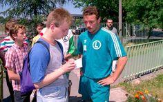 Wojciech Kowalczyk udziela wywiadu… Robertowi Błońskiemu.