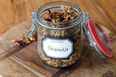 glutenvrij en suikervrij granola