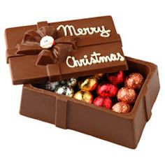 Chocolate in a Chocolate Box - Schakolad - $25 but how big is the box??