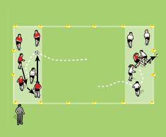 Over the Border drill for 5 to 8 year olds - part 2 Fun Soccer Games, Soccer Drills For Kids, Football Drills, Soccer Practice, Soccer Sports, Soccer Tips, Nike Soccer, Soccer Cleats, Lionel Messi Barcelona