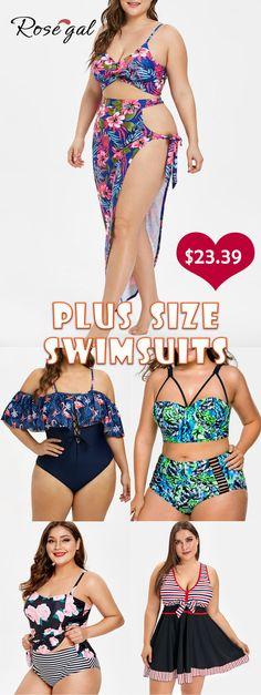 1c8a3c3fcc444 Plus Size Swimwear   Bathing Suits & Swimsuits For Plus Size Women On Sale