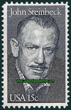 15c Literary Arts. John Steinbeck 1979