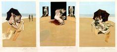 Metropolitan Triptych 1974 by Francis Bacon