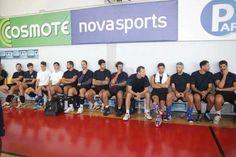 Ο ΑO Κηφισιάς μπήκε στο γήπεδο για τη νέα σεζόν (PHOTOS) Basketball Court, Sports, Information Technology, Hs Sports, Sport