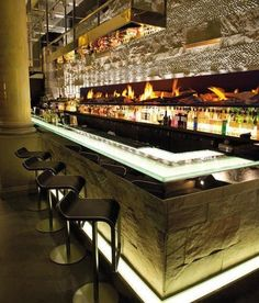 See more luxury bar lighting and furniture design inspirations at  luxxu.net  #luxury #bar #designideas #bardesign #lighting #interiordesign