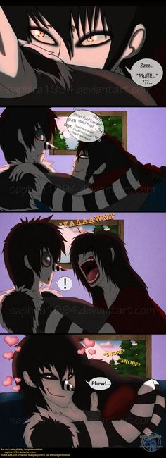 Adventures With Jeff The Killer - PAGE 83 by Sapphiresenthiss on deviantART