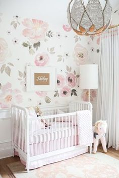 6d9ee3fc8202e Jolie Wallpaper - The Project Nursery Shop - 4 Wallpaper For Girls Room
