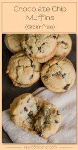 Grain-free Chocolate Chip Muffins | Real Food Kosher