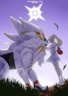 Solgaleo and Lillie