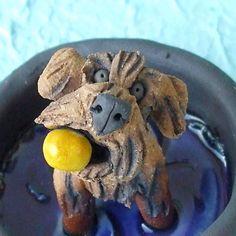 Labradoodle or Goldendoodle in Kiddie Pool Ceramic by RudkinStudio, $42.00 All About Puppies, Kiddie Pool, Goldendoodle, Polymer Clay, Doodles, Handmade Gifts, Vintage, Etsy, Food