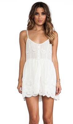 Spell & The Gypsy Collective Indian Summer Sun Dress in White | REVOLVE