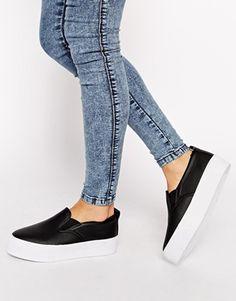 Enlarge ASOS DEMONSTRATE Flatform Sneakers
