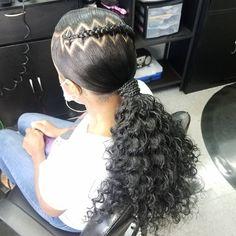 Black Braided Hairstyles, Little Girl Hairstyles, African Hairstyles, Black Women Hairstyles, Little Black Girls Braids, Black Girl Braids, Braids For Black Hair, Hair Ponytail Styles, Hair Styles