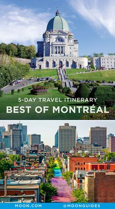 This Montreal travel itinerary highlights the best things to see and do in every neighborhood. Sample delicious food, tour art museums, and get to know the city on foot or by bike. We've even included a day trip to Mont-Tremblant National Park. Quebec Montreal, Montreal Travel, Montreal Ville, Quebec City, Alberta Canada, O Canada, Canada Travel, Canada Trip, Montreal Canada
