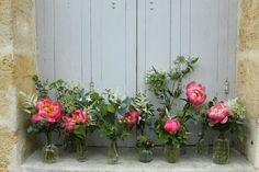 Chemin de table: pivoine/dille/jasmin/eucalyptus/astilbe... Les Mauvaises Herbes, artisans fleuristes, bordeaux. #lesmauvaisesherbes #flowers #wedding #mariage #pivoine #weddingcenterpiece