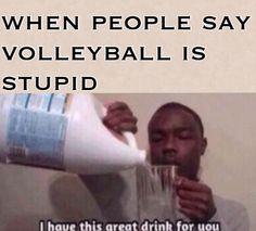 haha volleyball humor