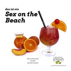 Das ist der Sex on the Beach von freilaufende Limetten.